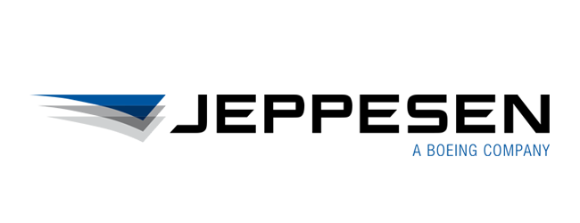 Logipad Partner: Jeppesen a Boeing Company Logo